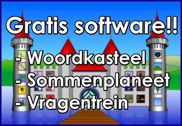 Edu-Curator: Woordkasteel en Sommenplaneet: gratis software om te gebruiken bij spelling en rekenen!