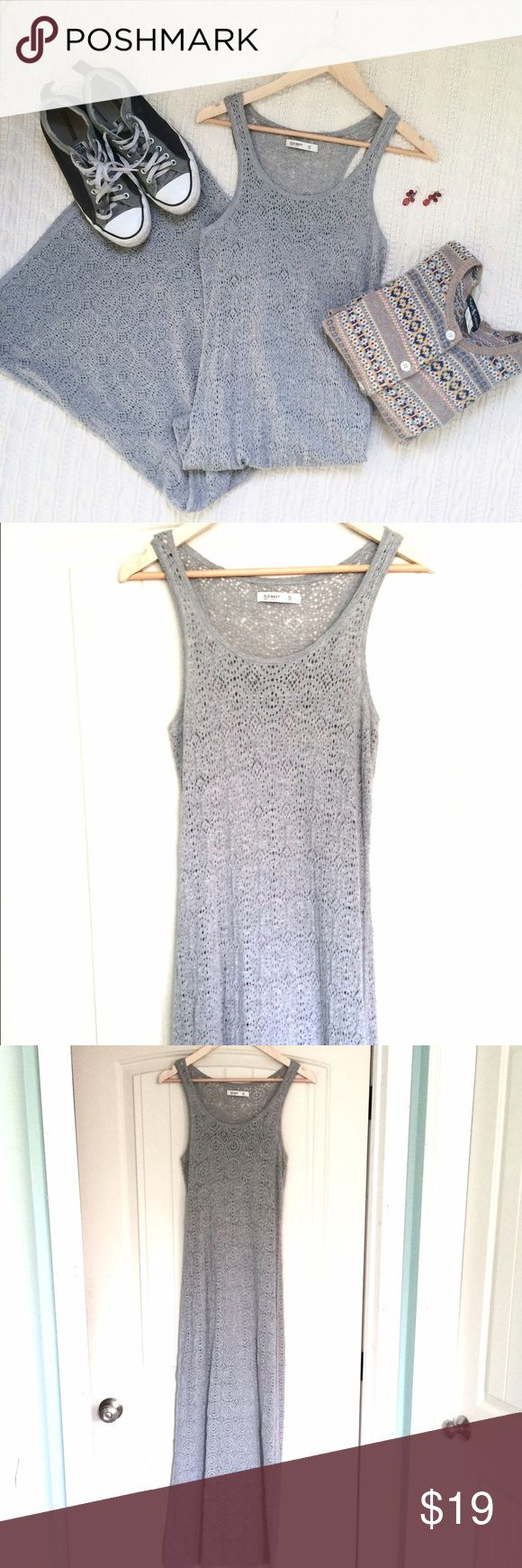 Cute Crochet Maxi Dress Gorgeous, fully lined, crocheted maxi dress! Perfect for spring and summer! Let me know if you have any questions 💋 CONSIGNING SOON Old Navy Dresses Maxi