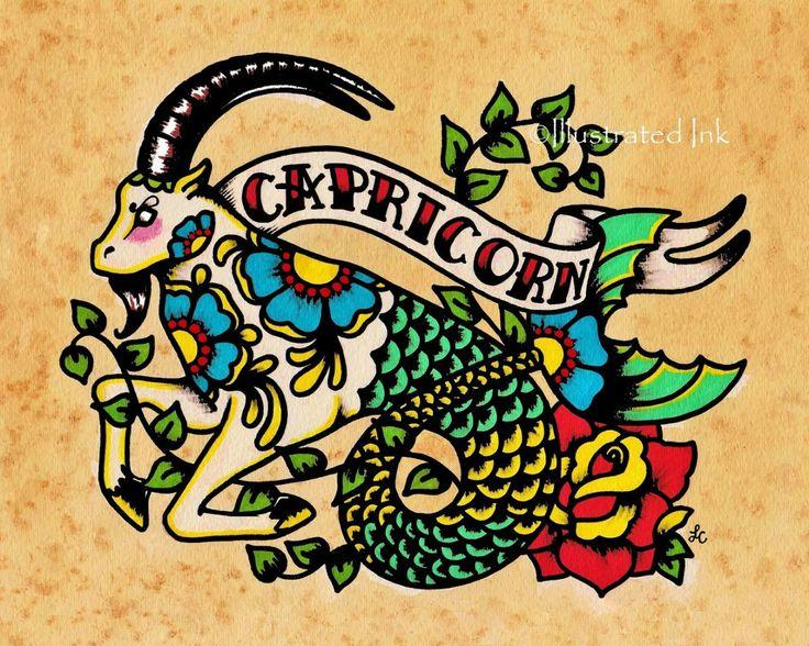 Capricornio - Illustrated Ink