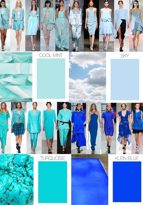 Color Direction | Women's: Spring Summer 2015 by Trend Council.