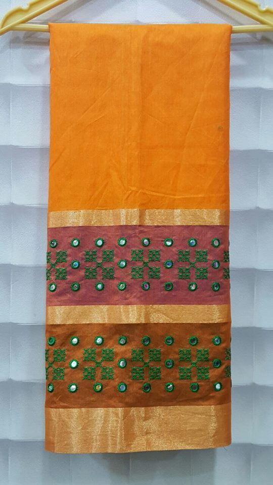 Embroidery French Knot Sarees