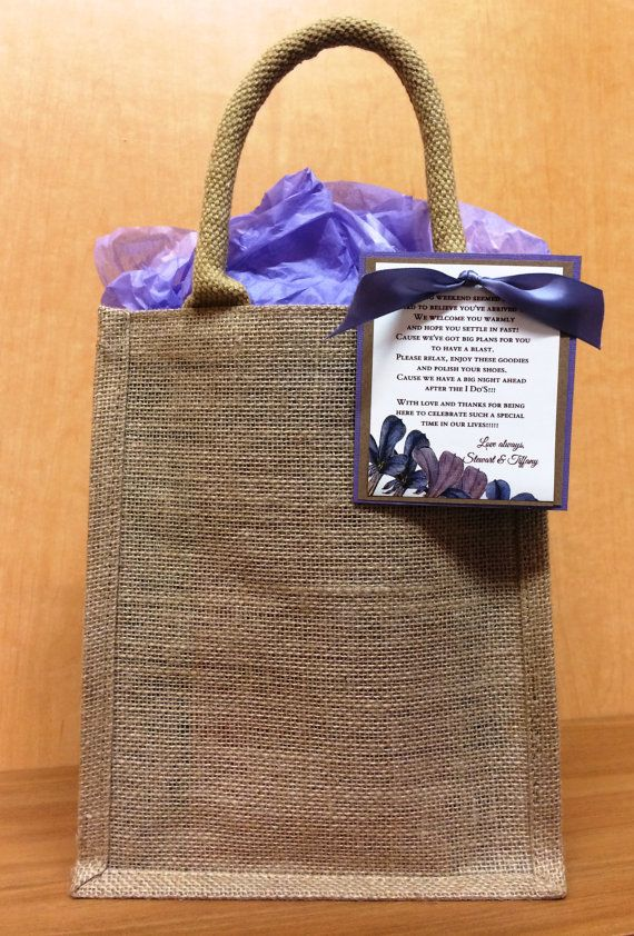 20 Burlap Jute Tote Bags with Handles Lined for by MilgrimDesigns