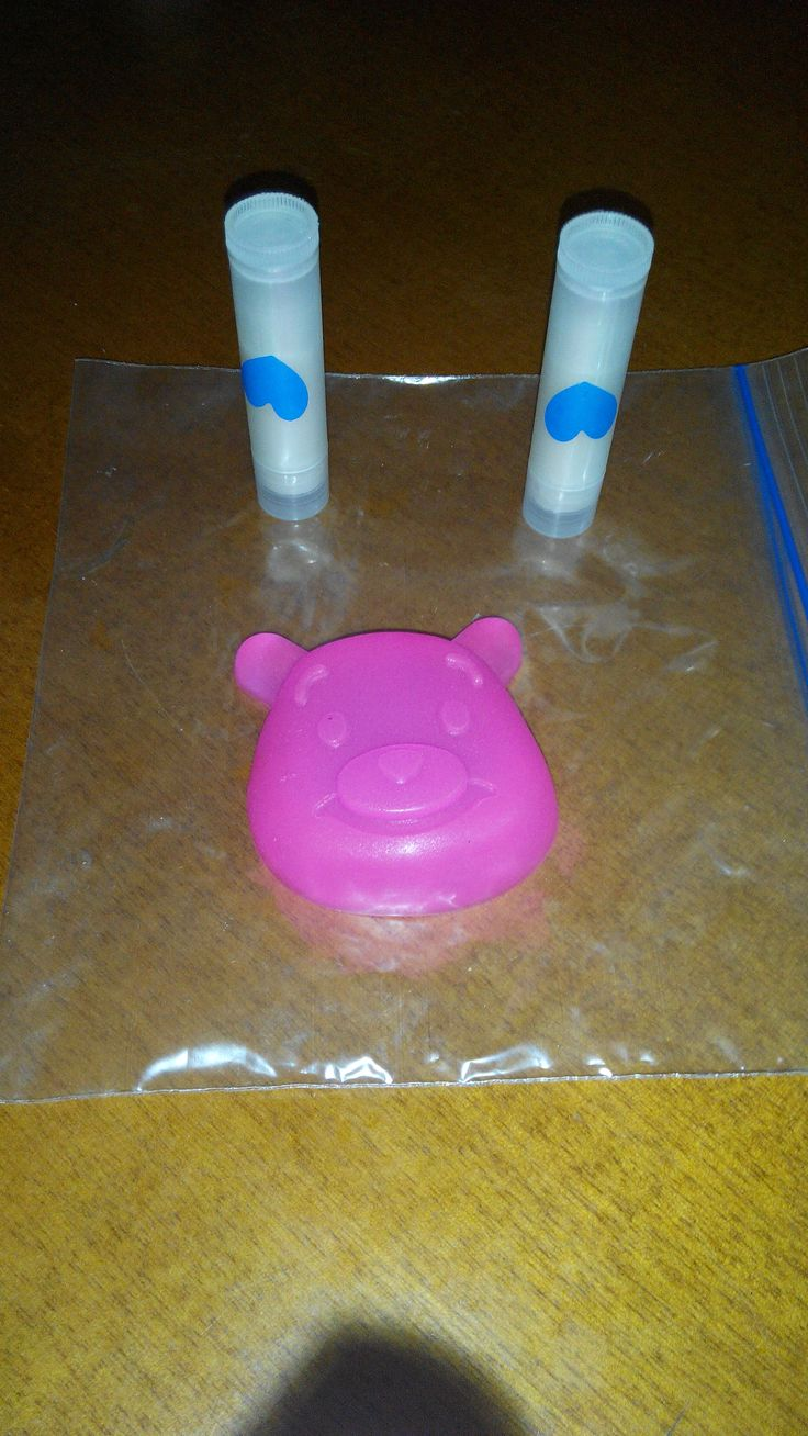 lip balm & soap