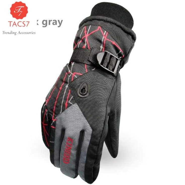 Men Women Ski Gloves