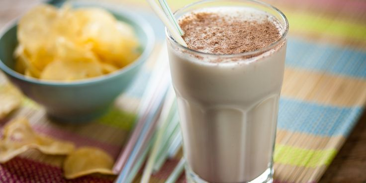 An easy refreshing banana smoothie recipe from Andy McLeish with warming spices for a winter treat.