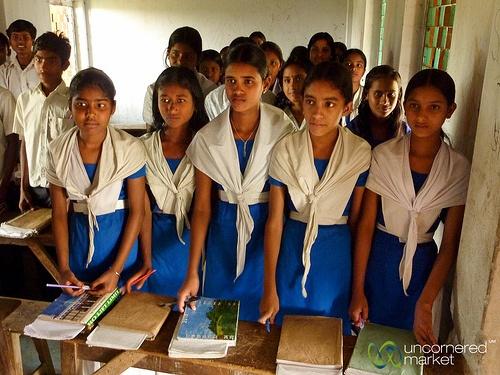 girls preparing for their futures - Nalbata, Bangladesh