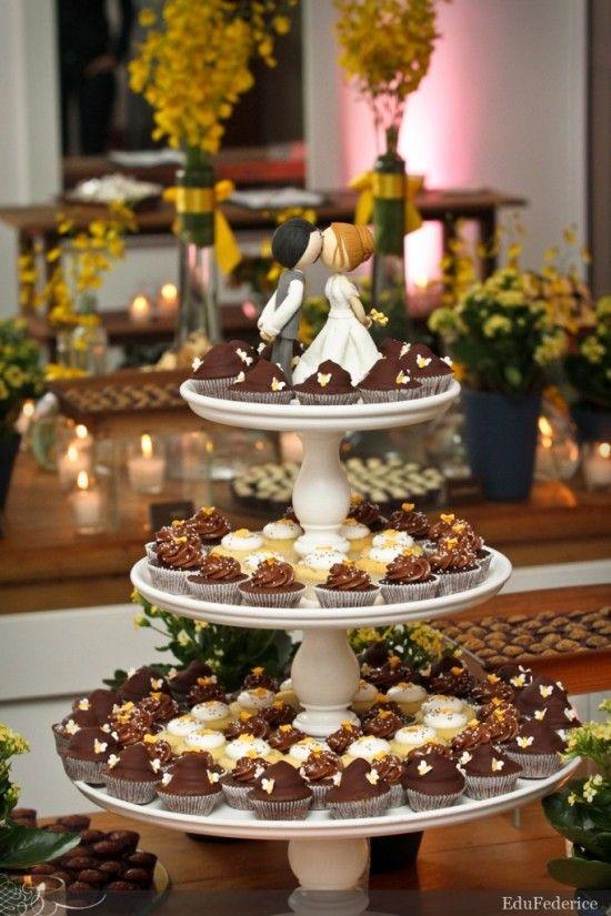 Casamento – Receitas de docinhos de casamento: trufa de chocolate, camafeu de nozes e bombom de amêndoa.