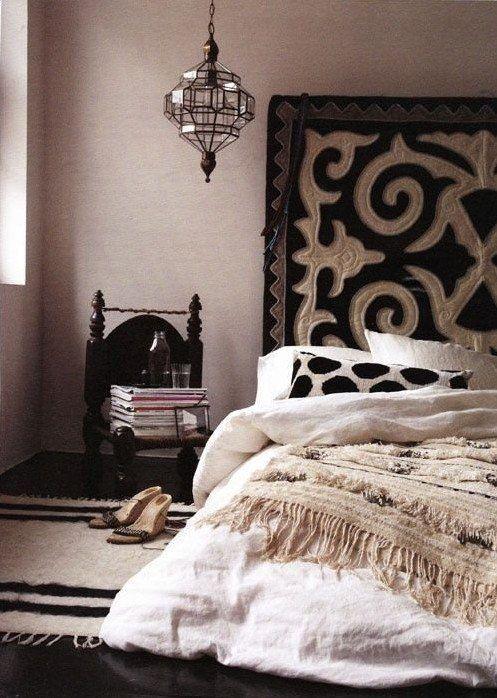 Die besten 25+ schwarzes Schlafzimmer Design Ideen auf Pinterest - 50 schlafzimmer ideen im boho stil