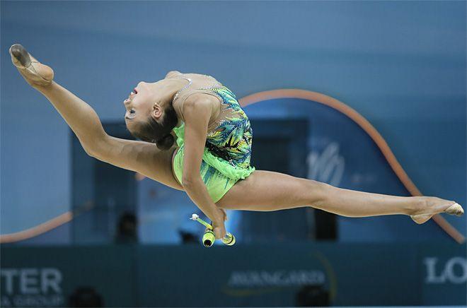APTOPIX Ukraine Rhythmic Gymnastics Worlds Overview