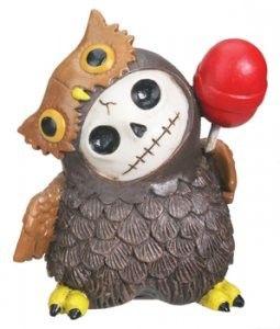 Gorey Details Furry Bones Owl Figurine - This gorgeous Furry Bones Hootie - Collectible Figurine Statue