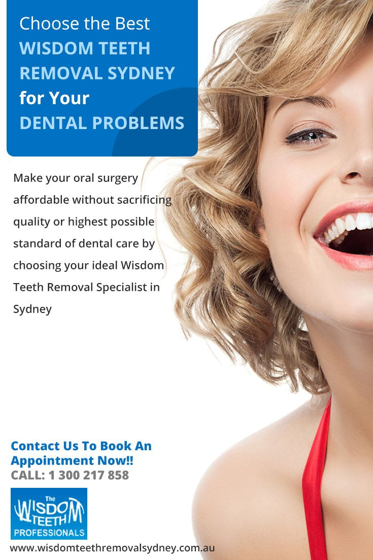 Make your oral surgery affordable without sacrificing quality or highest possible standard of dental care by choosing your ideal #Wisdom_Teeth_Removal_Specialist_in_Sydney