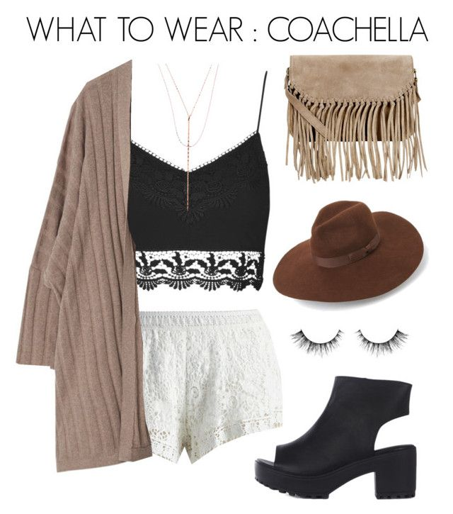 WHAT TO WEAR : COACHELLA by silviadarma on Polyvore featuring polyvore мода style Violeta by Mango Topshop Chicwish Accessorize Lana Lack of Color fashion clothing