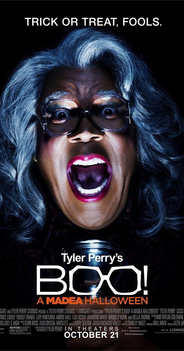 """Directed by Tyler Perry.  With Tyler Perry, Cassi Davis, Patrice Lovely, Yousef Erakat. Madea winds up in the middle of mayhem when she spends a haunted Halloween fending off killers, paranormal poltergeists, ghosts, ghouls and zombies while keeping a watchful eye on a group of misbehaving teens. """"Silly, LOL fun. A must for fans of Madea!"""""""