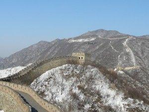 China, paraíso invernal.