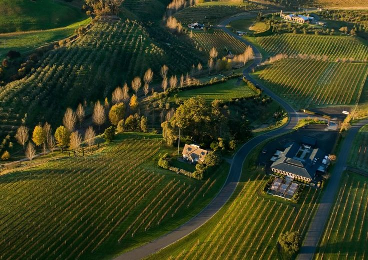 Blackbarn Vineyards, Hawkes Bay, New Zealand. One of the worlds  Top 10 Vineyard Inns& Hotels, by Frommers - via NZ 100% Pure