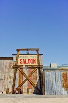 Road trip find: Joshua Tree Saloon just outside of the Park.