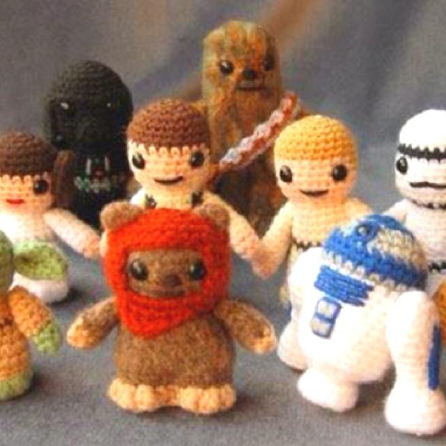Star wars crochet :) awwwwwn