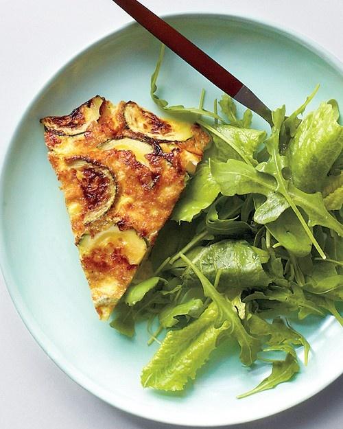 Book CLub Brunch! Ham, Zucchini, and Gruyere Frittata - Martha Stewart Recipes