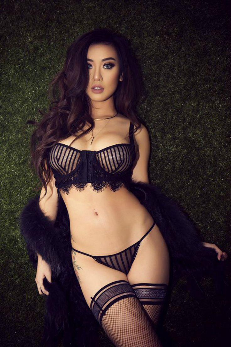 Lynn Chu   Import models   Sexy lingerie, Black lingerie ...