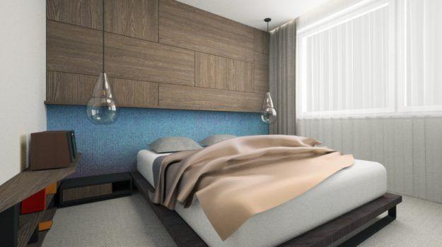 Návrh spálne - interiér Banšelova, Bratislava - Interiérový dizajn / Bedroom interior by Archilab