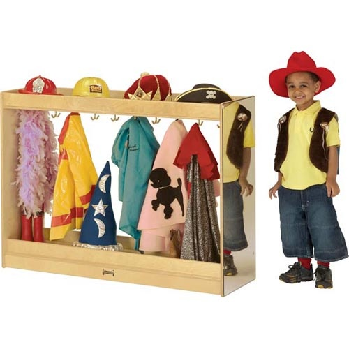 dress up storage- could build for much cheaper. Love the hooks for easy hang up