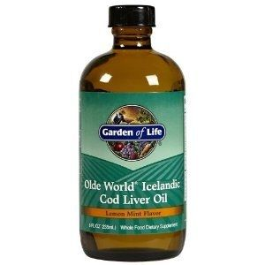 Garden of Life Olde World Icelandic Cod Liver Oil: Cod liver oil has always been an important part of the diet for the Icelandic people. They instinctively recognize the importance of Vitamin A, Vitamin D and the essential Omega-3 fatty acids found in cod liver oil.