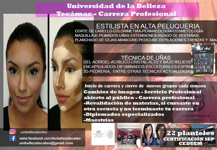tecnico profesional  de belleza Tecámac y Teotihuacán  4