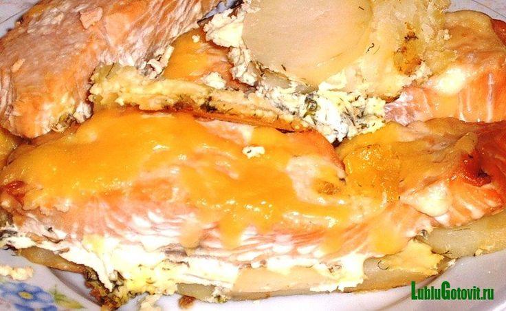 Рецепты запеченной горбуши под сыром