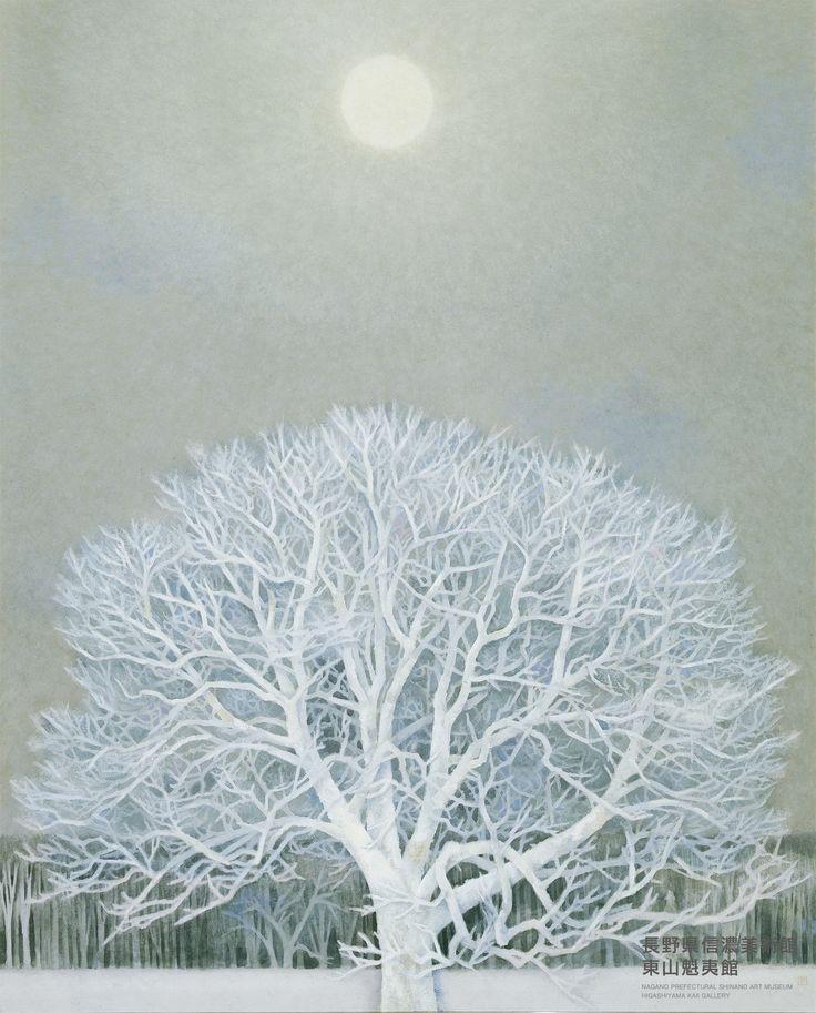 東山魁夷《冬華》1964 東京国立近代美術館蔵