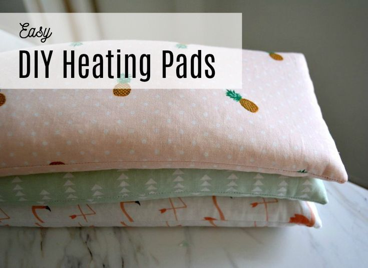 Easy diy heating pads