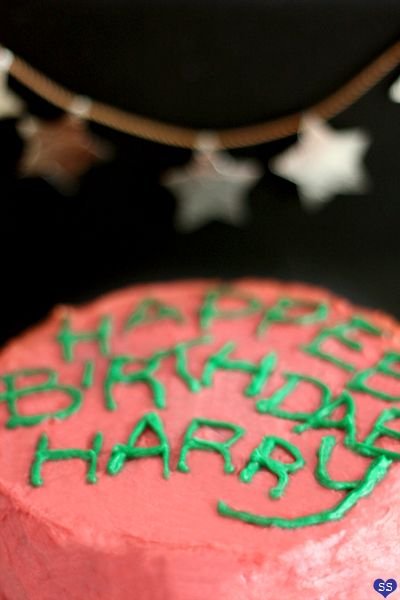 Hagrid Cake!