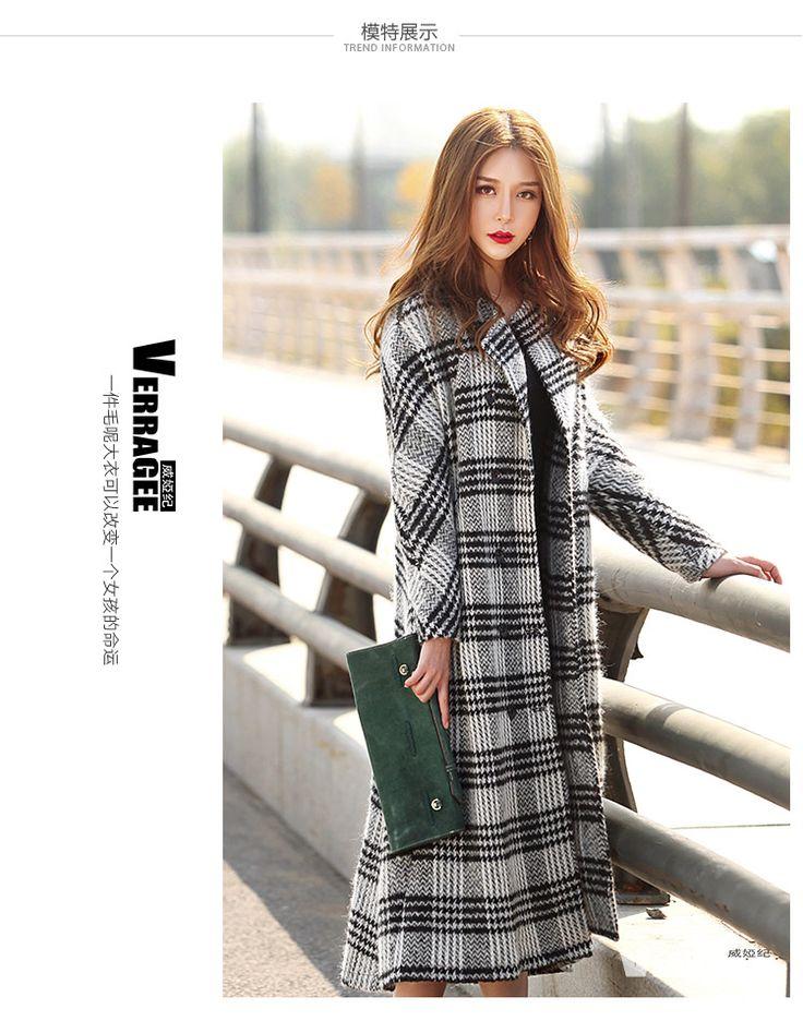 Manteau laine epaisse femme