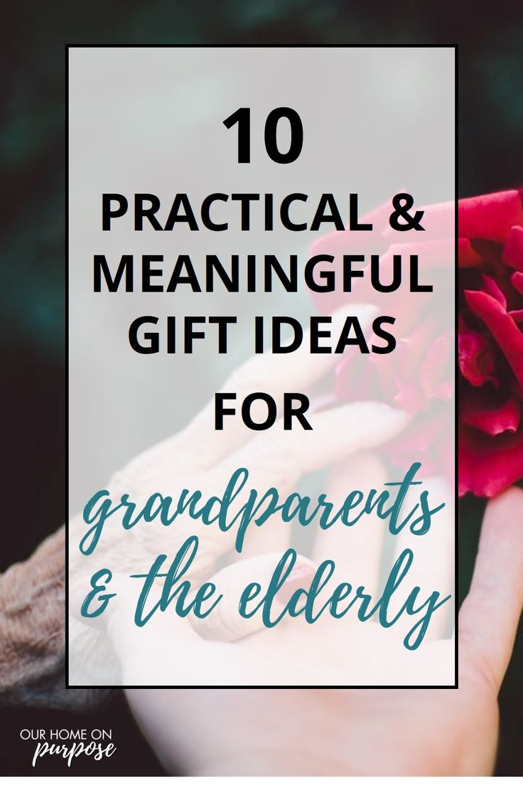 gifts for elderly parents who have everything