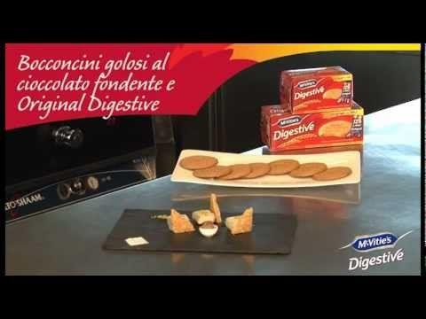 #mcvities #digestive Bocconcini al cioccolato fondente e Original Digestive #recipe #recipes #ricetta