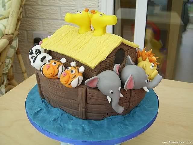 Help ! Tarta Arca de Noe - MundoRecetas.com
