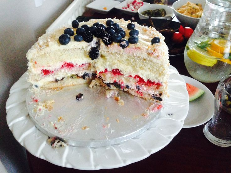 Hurry up...berry cake