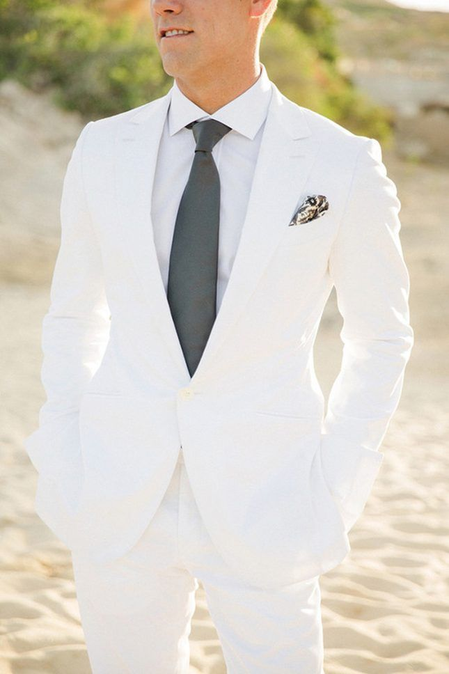 11 Modern Groom Looks That Ditched the Traditional Tuxedo via Brit + Co