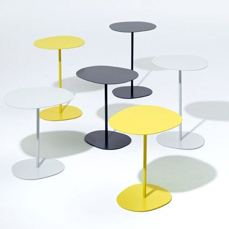 Lily side table by Lucy Kurrein - SCP at London Design Festival.