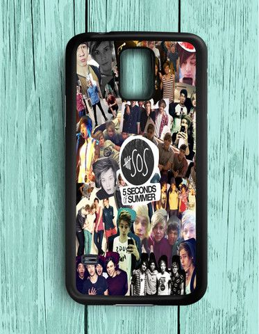 5 Second Of Summer Collage Band Music Samsung Galaxy S5 | Samsung S5 Case