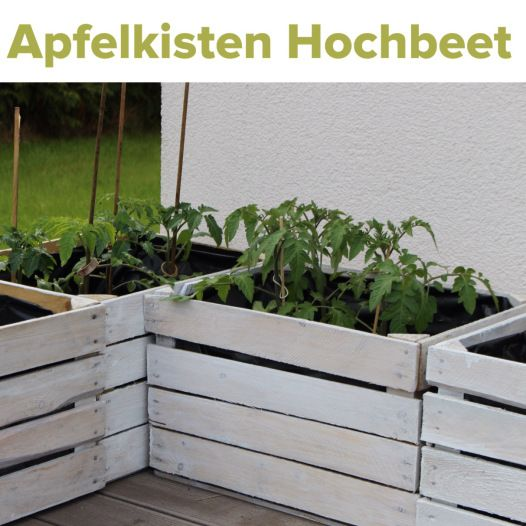 obstkisten upcycling hochbeet gem sepflanzen outdoor acker pinterest g rten kisten und. Black Bedroom Furniture Sets. Home Design Ideas