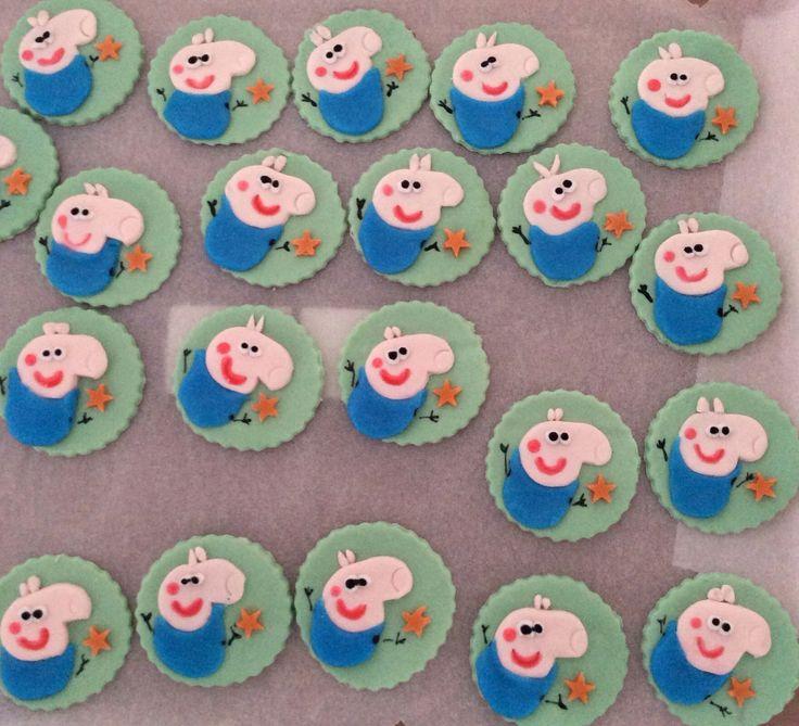 George cupcake topper