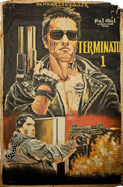 Ghanain Movie Poster for Terminator.