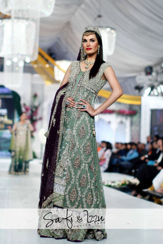 Rani Emaan, Pakistani Bridal Couture Collection----Perfect wedding complimenting colors