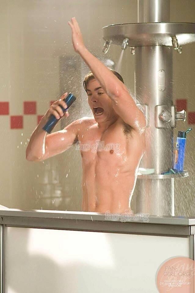Zac Efron Naked Shower Scene 19