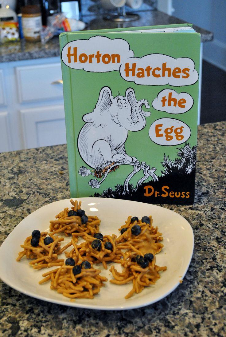 Dr. Seuss snacks for #kidscookmonday