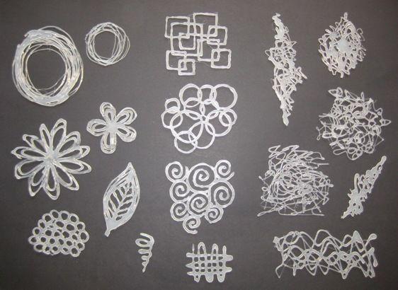 Ik vond op you tube een superleuk idee ( DIY Hot Glue Stamps & Stencils ) om zelf stempels/stencils te maken met smeltlijm.   Uiteen perio...
