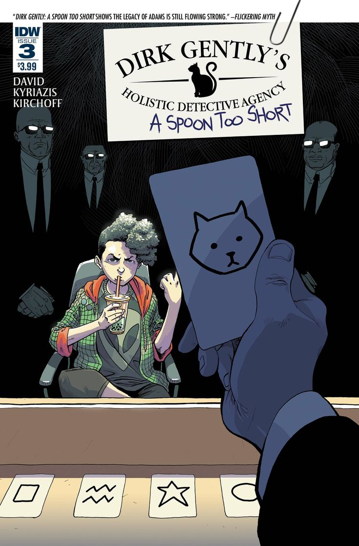 Dirk Gently: A Spoon Too Short (2016) Issue #3