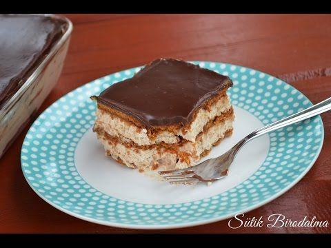 Kávés-karamellás sütemény elkészítése recepttel (videó)
