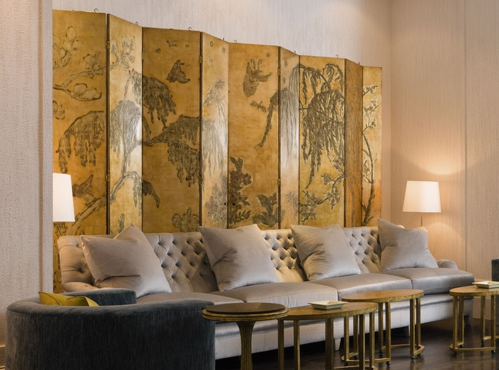 Antique Pierre Bobot screen used in a private residential design by David Collins - The great divide - Home Accessories - How To Spend It