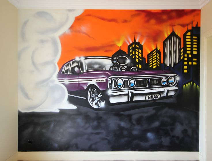 Kids Bedrooms, Garages etc, car themed rooms. From $800.00* Subject to design / size.